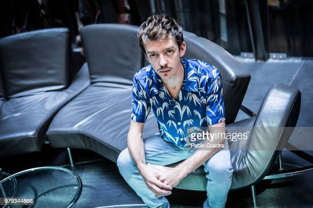 Argentinian actor Nahuel Perez Biscayart attends the 'Nos Vemos Alla Arriba' photocall at Urban Hotel on June 20 2018 in Madrid Spain