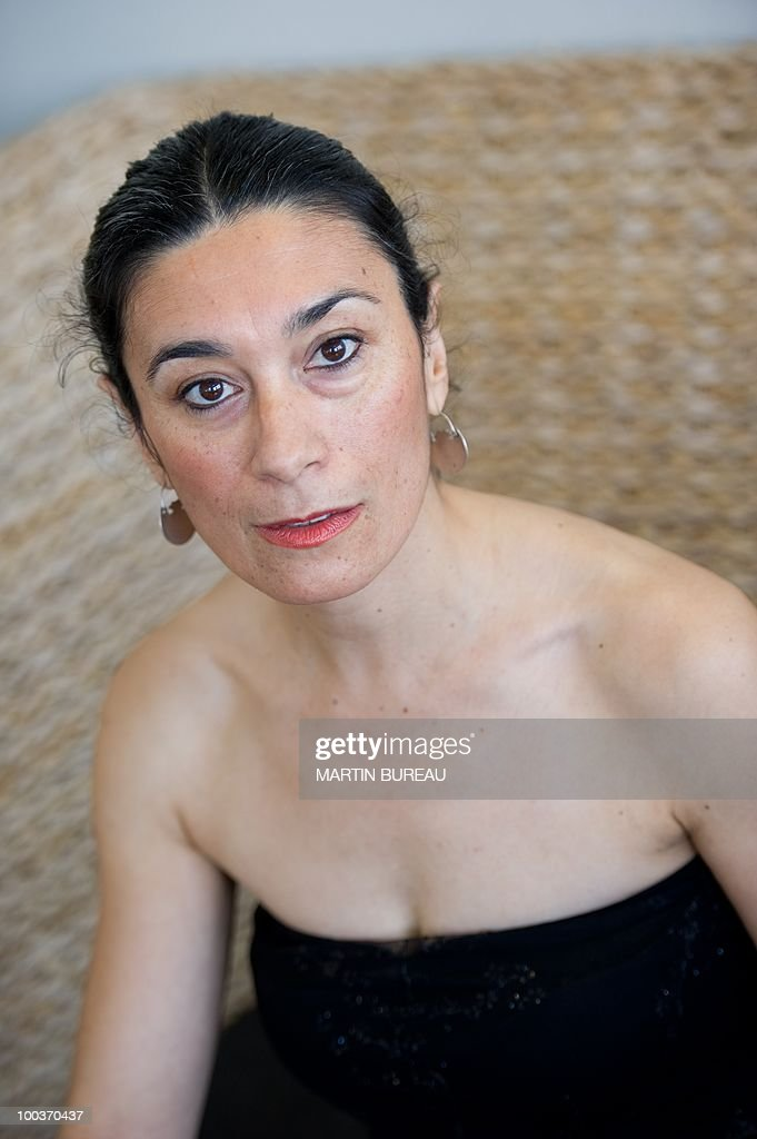 Argentinian actress Eva Bianco poses during the 63rd Cannes Film Festival on May 18, 2010 in Cannes.