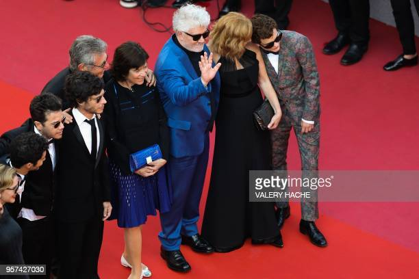 Argentinian actress Mercedes Moran Argentinian actor Chino Darin Argentinian producer Sebastian Ortega Argentinian producer Hugo Sigman and his wife...