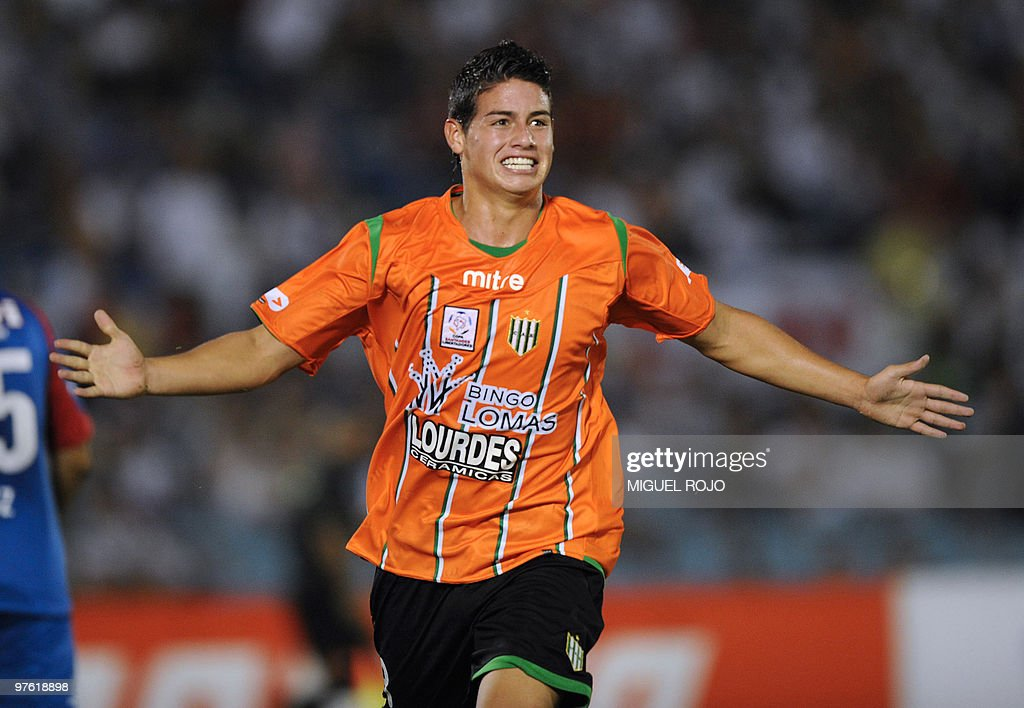 Argentinian Banfield's player James Rodr : News Photo