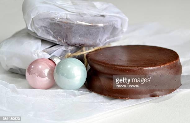 Argentinian chocolate cookies alfajores