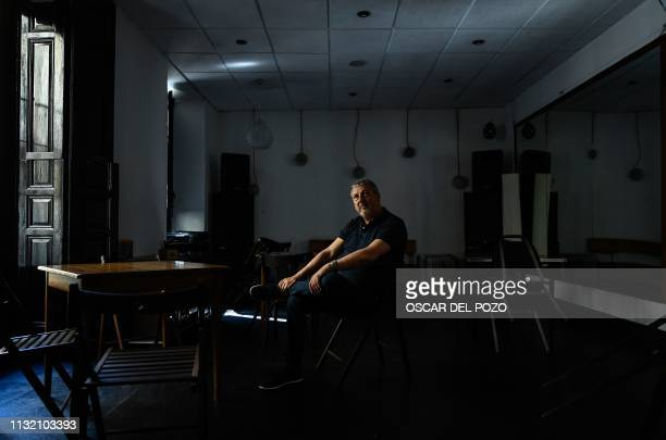 Argentinian doctor Marcos Hourmann the only doctor convicted of euthanasia in Spain poses during an AFP interview in Madrid on March 21 2019 I am the...