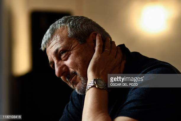 Argentinian doctor Marcos Hourmann the only doctor convicted of euthanasia in Spain attends an AFP interview in Madrid on March 21 2019 I am the...