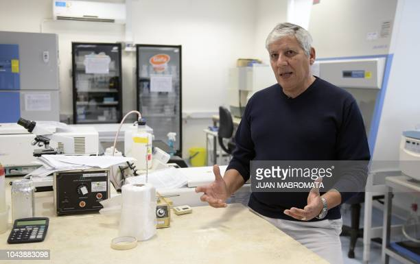 Argentinian Dr Horacio Salomon Clinical and Research Lab Director of the Institute of Biomedical Research in Retroviruses and AIDS of the CONICET and...