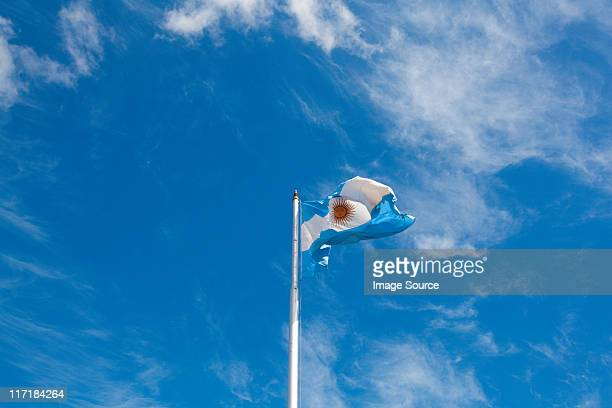 Argentinian flag, Buenos Aires, Argentina