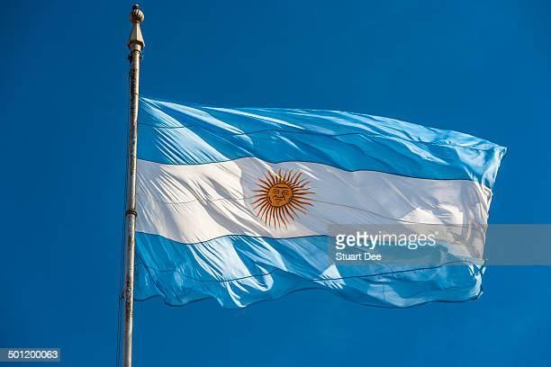 argentinian flag - bandera argentina fotografías e imágenes de stock