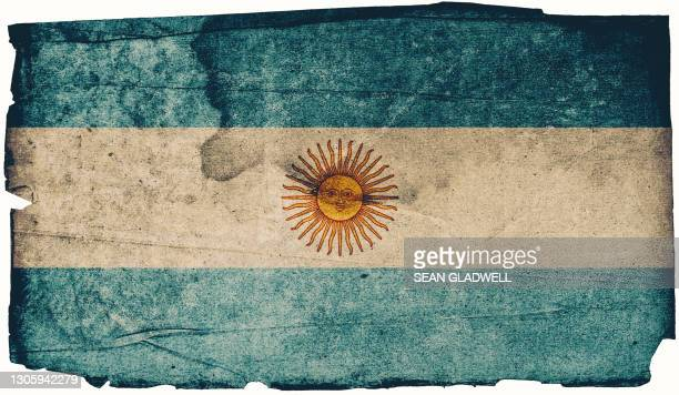 argentinian grunge flag - insignia stock pictures, royalty-free photos & images