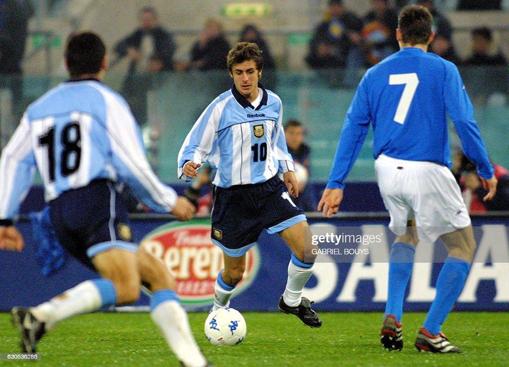 SOCCER-ITALY-ARGENTINA : News Photo