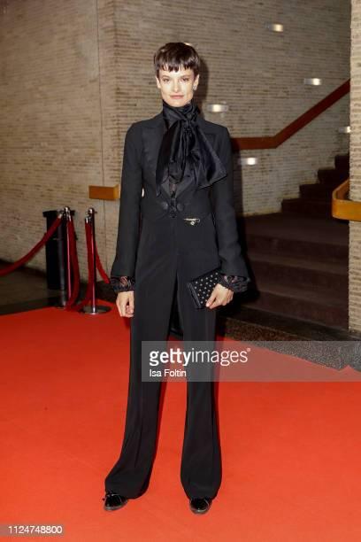 Argentinian model Pau Bertolini attends the 'La Fiera Y La Fiesta' premiere during the 69th Berlinale International Film Festival Berlin at Kino...