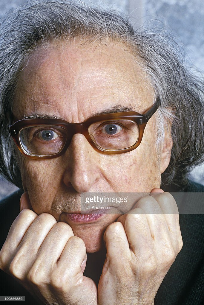 PARIS, FRANCE - APRIL 2. Argentinian poet and writer Arnaldo Calveyra at a portrait session on April 2, 1996 Paris, France.