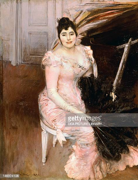 Argentinian Singer by Giovanni Boldini