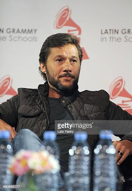 Argentinian singer Diego Torres attends Latin GRAMMY En Las Escuelas - Buenos Aires with the Universidad Nacional de Tres de Febrero at the Centro...