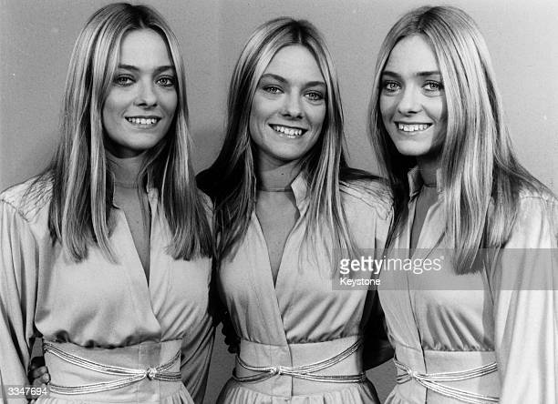 Argentinian triplets and members of the top pop group Trix These sisters are all talented and all christened Maria thereby making it easier for fans...
