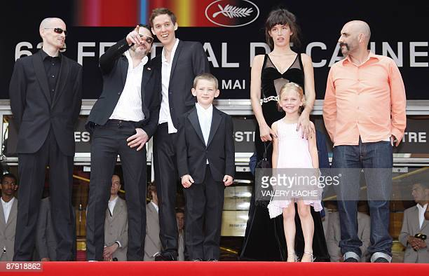 Argentinianborn director Gaspar Noe and US actress Paz de la Huerta US actor Nathaniel Brown actress Emily Alyn Lind and actor Jesse Kuhn arrive for...