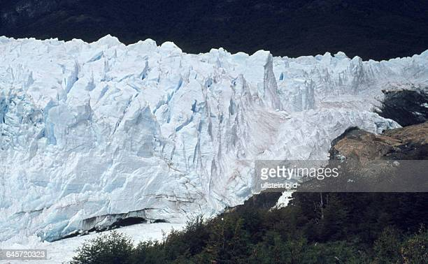 Argentinien Patagonien ca 1986 Gletscher Perito Moreno im Nationalpark Los Glaciares