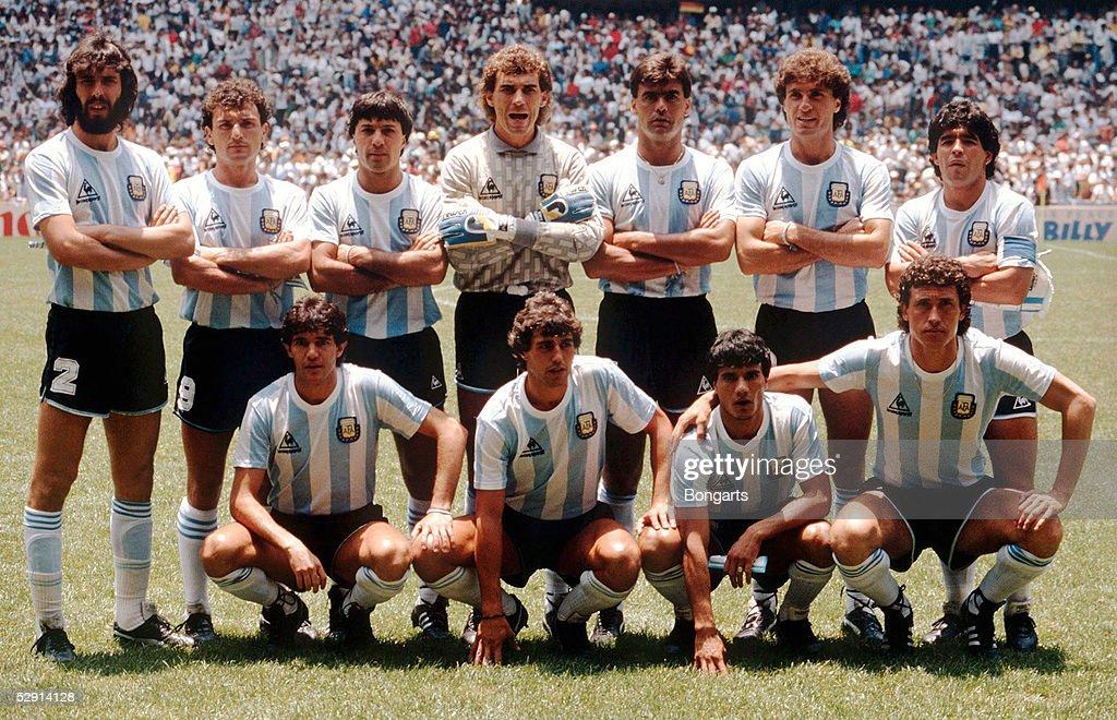 FUSSBALL: WM 1986, Finale : News Photo