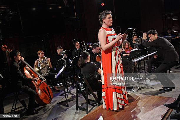 Argento Chamber Ensemble presents Mahler in New York at Park Avenue Armory on Thursday night January 15 2015This imageThe mezzosoprano Jennifer...