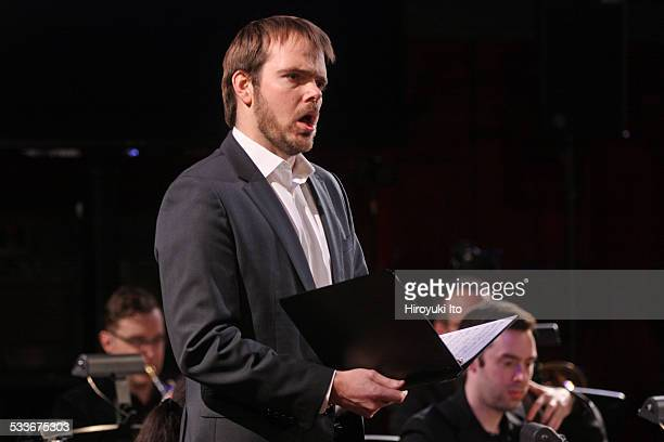 Argento Chamber Ensemble presents Mahler in New York at Park Avenue Armory on Thursday night January 15 2015This imageThe tenor James Benjamin...