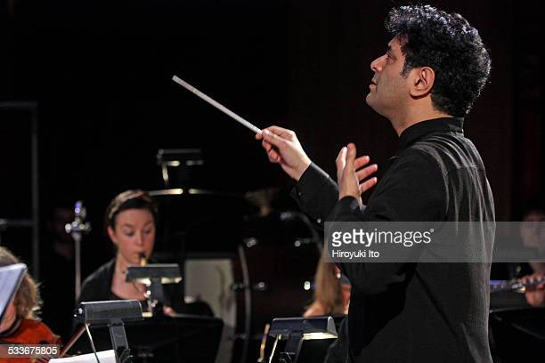 Argento Chamber Ensemble presents Mahler in New York at Park Avenue Armory on Thursday night January 15 2015This imageMichel Galante leading the...