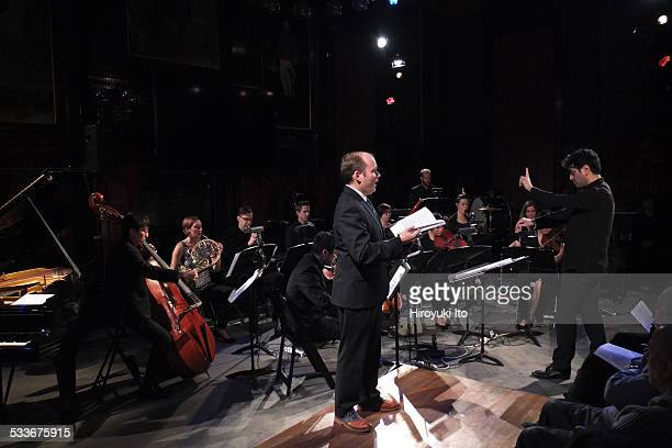 Argento Chamber Ensemble presents Mahler in New York at Park Avenue Armory on Thursday night January 15 2015This imageThe tenor Zach Finkelstein...