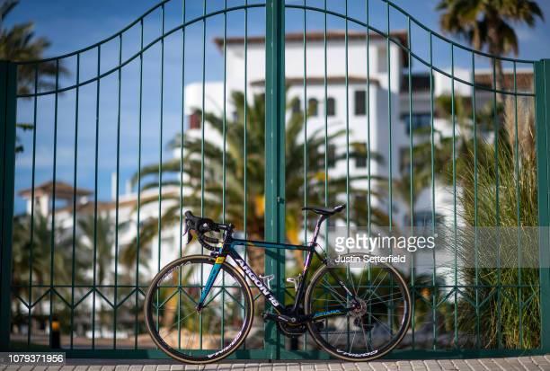 Argon 18 Bike / Astana Pro Team of Kazakhstan / Landscape / on December 18 2018 in Altea Spain