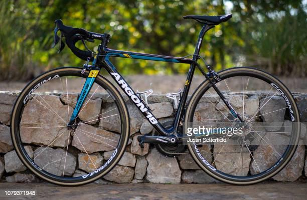 Argon 18 Bike / Astana Pro Team of Kazakhstan / on December 18 2018 in Altea Spain