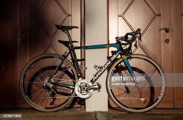 Argon 18 Bike / Detail view / on December 18 2018 in Altea Spain