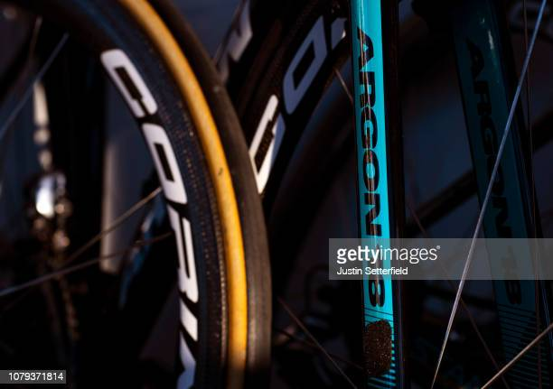 Argon 18 Bike / Shadow / Detail view / on December 18 2018 in Altea Spain