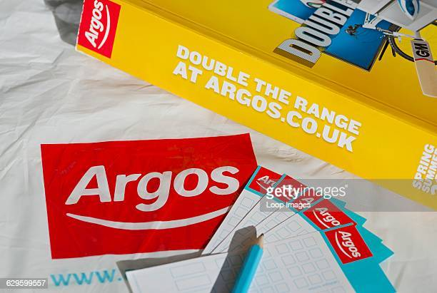 Argos catalogue and order forms York England