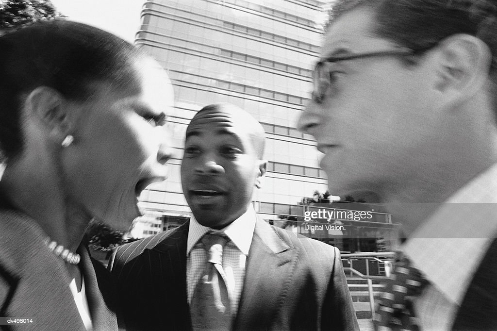 Arguing Business People : Stock-Foto