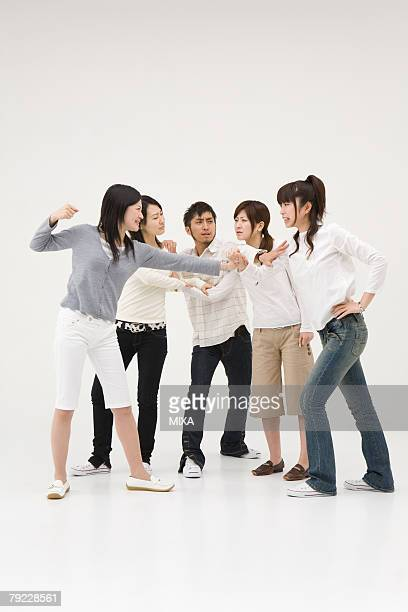 Arguing young women