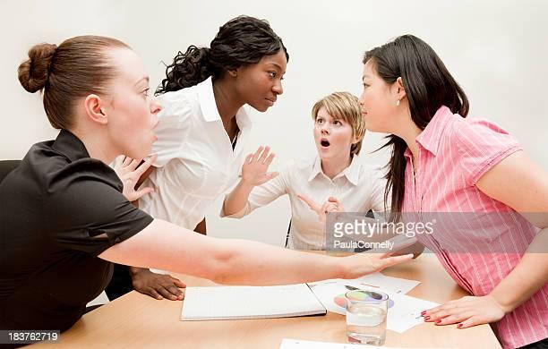 Argument dans une réunion