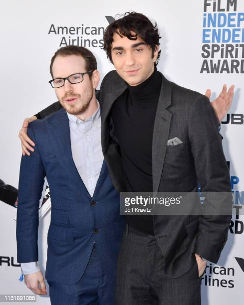 Ari Aster and Alex Wolff attends the 2019 Film Independent Spirit Awards on February 23 2019 in Santa Monica California