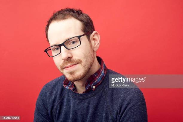 Ari Aster from the film 'Hereditary' poses for a portrait in the YouTube x Getty Images Portrait Studio at 2018 Sundance Film Festival on January 22...