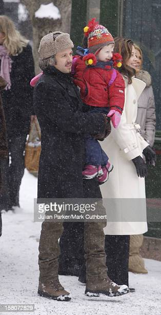 Ari Behn & Daughter Maud Angelica Attend King Harald Of Norway'S 70Th Birthday Celebrations In Oslo.Visit To The Norwegian Folk Museum. .