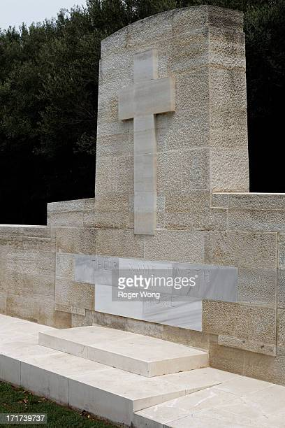 Ari Burnu ANZAC Cemetery in Anzac Cove at Gallipoli