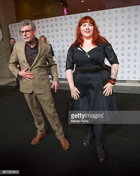 Ari Deelder and John Buijsman attend the opening of the Rotterdam International Film Festival on January 27 2016 in Rotterdam Netherlands