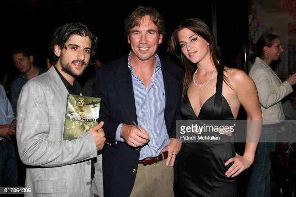 Ari Einhorn Brad Schaeffer and Jacqualine Harrod attend INFA Energy Brokers LLC celebrates the release of BRAD SCHAEFFER's 'Hummel's Cross' at...