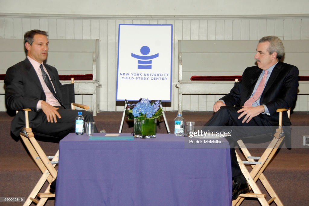 Ari Emanuel and Dr  Harold Koplewicz attend NYU Child Study Center