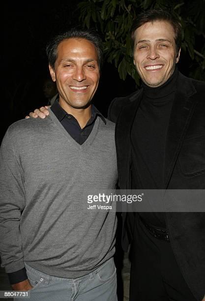 Ari Emanuel and Patrick Whitesell