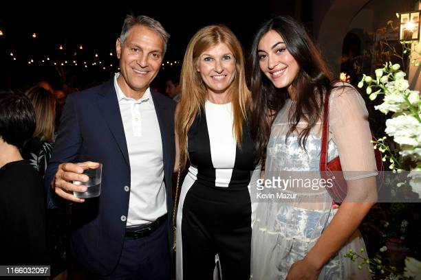 Ari Emanuel Connie Britton and Sarah Staudinger attend Apollo in the Hamptons 2019 Hosted by Ronald O Perelman at The Creeks on August 03 2019 in...