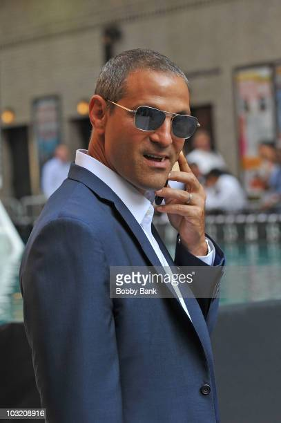 Ari Emanuel seen on the streets of Manhattan on August 2 2010 in New York City