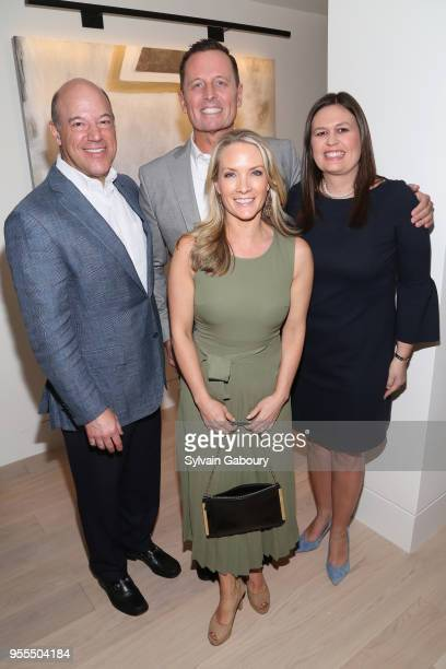 Ari Fleischer Ambassador Richard Grenell Dana Perino and Sarah Huckabee Sanders attend Ambassador Grenell Goodbye Bash on May 6 2018 in New York City
