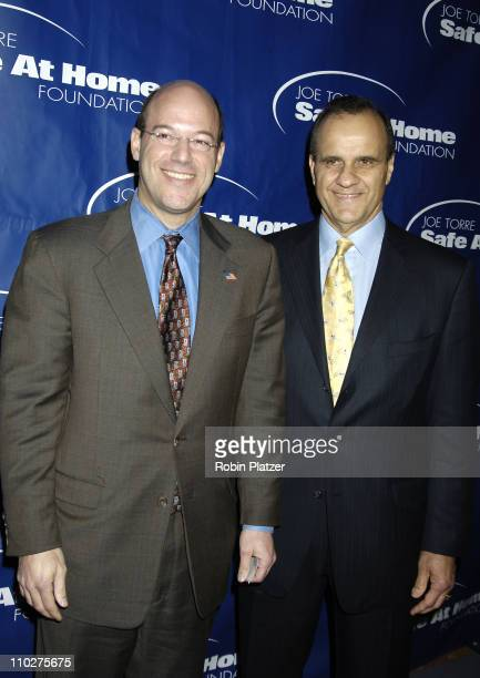 Ari Fleischer and Joe Torre during Joe Torre Safe at Home Foundation's Third Annual Gala at Pierre Hotel in New York City New York United States