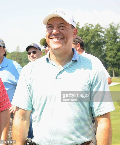 Ari Fleischer attends Joe Torre Safe At Home Foundation 2013 Golf and Tennis Classic at Sleepy Hollow Country Club on July 17 2013 in Scarborough New...