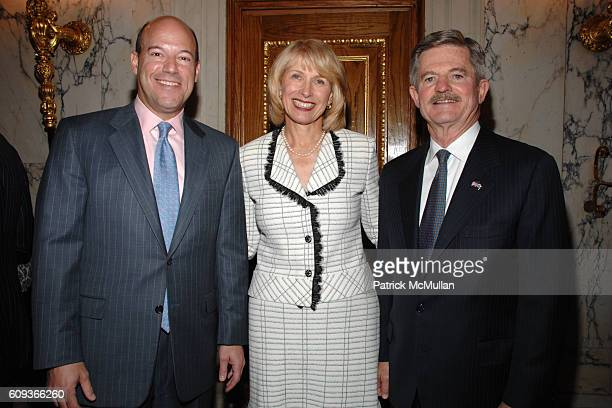 Ari Fleischer Dr Tara Cortes and Jim Nicholson attend Lighthouse International hosts The Henry A Grunwald Award for Public Service honoring Pete...