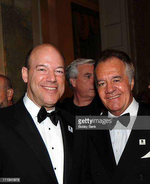 Ari Fleischer former White House press secretary president of Ari Fleischer Communications and actor Tony Sirico attends the 2011 Wounded Warrior...