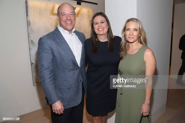 Ari Fleischer Sarah Huckabee Sanders and Dana Perino attend Ambassador Grenell Goodbye Bash on May 6 2018 in New York City