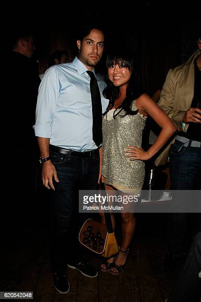 Ari Goldberg and Carol Han attend CATHERINE FULMER After Party at Timo on September 11 2008 in New York City