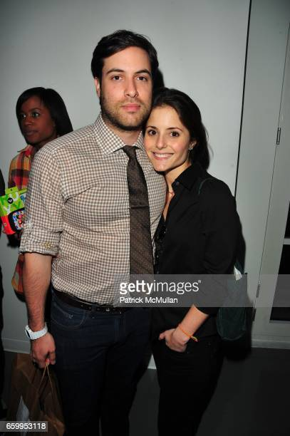 Ari Goldberg and Mallory Montilla attend ROXY collaboration with JBL launch at Red Bull Space on May 19 2009 in New York City